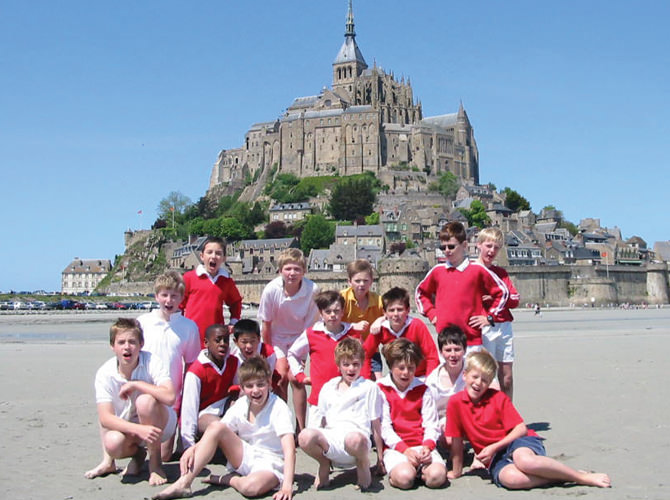 Normandy French School Trip
